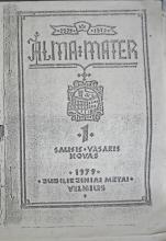 ALMA MATER, No. 1, 1979. Cover. Keston Archive, Keston Center for Religion,  Politics, & Society, Baylor University.